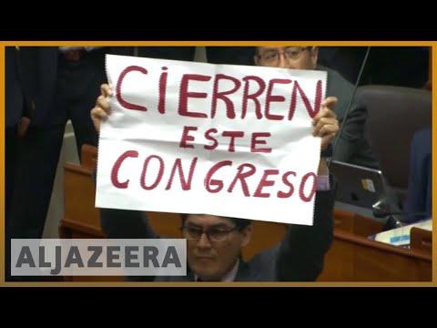 AlJazeera English:Peru voters demand corruption-free gov't