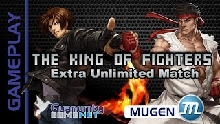 getlinkyoutube.com-The King of Fighter Extra Unlimited Match [MUGEN Gameplay]
