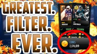 getlinkyoutube.com-MAKE 40K EVERY ROUND WITH THESE SNIPING FILTERS IN MADDEN MOBILE 17! THE GREATEST COIN METHOD EVER!
