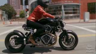 getlinkyoutube.com-Confederate Motorcycles' third-generation Hellcat, the X132