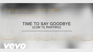 Track By Track - Time To Say Goodbye (Con Te Partir)