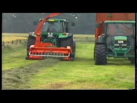 Kemper tractor mounted forage harvesters