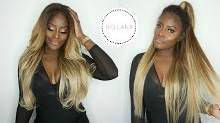 HOW TO GO BLONDE! CLIP-INS TO WIG TRANSFORMATION | BELLAMIHAIR