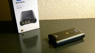 [Unboxing] Sony PHA-3 AC Headphone amp / DAC Hi Res Audio