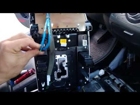 Снятие панели прикуривателя и розетки Hyundai IX55/Veracruz
