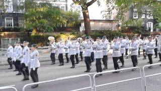 getlinkyoutube.com-Beating retreat  2015 massed bands birdcage walk