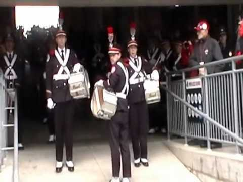 Ohio State Marching Band TBDBITL Pregame Ramp and Post game exit 11/3/12 vs. Illinois