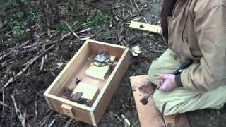 getlinkyoutube.com-Coon trapping tips on how to make a cheap dog proof trap for coons from Poor Man's Outdoors