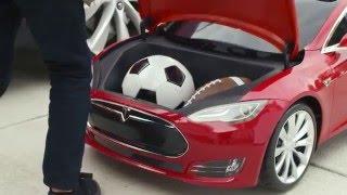 getlinkyoutube.com-Tesla Model S for Kids by Radio Flyer