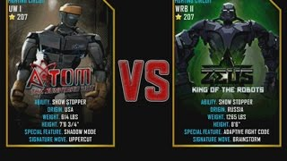 getlinkyoutube.com-Real Steel WRB Atom VS Zeus (champion) NEW graphics blows