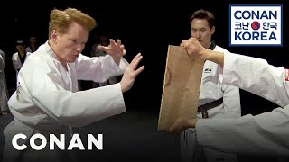 getlinkyoutube.com-Conan Becomes A Tae Kwon Do Master