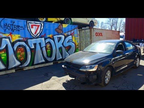 2014 VW Jetta 2.0. Авто до 2000$, страховой аукцион Копарт (copart.com). Авто из США в Украину.