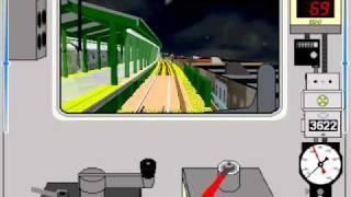 getlinkyoutube.com-OpenBve: R32 Y Train(Claremont Pkwy - 96St)