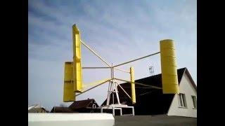 getlinkyoutube.com-Вертикальный ветрогенератор 4kw