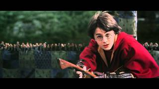 getlinkyoutube.com-HARRY POTTER AND THE CHAMBER OF SECRETS - Harry Potter gets a rogue bludger during quidditch match