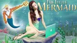 Little Mermaid DIY Hipster Halloween Costume!