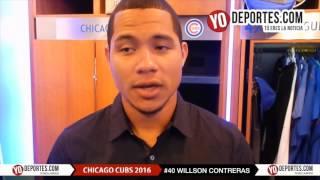 Willson Contreras debuta en Chicago con los Cubs