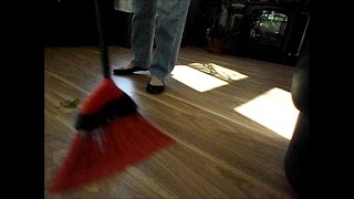 getlinkyoutube.com-ASMR sweeping the floor - no talking