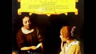 Mozart: Serenade no. 3 in D major K. 185 (Janos Rolla; L.F.C.O. - 1987 vinyl LP)