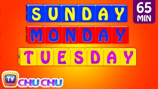 getlinkyoutube.com-Learn/Teach Days of the Week Song, Alphabets, Colors, Numbers Nursery Rhymes for Kids | ChuChu TV