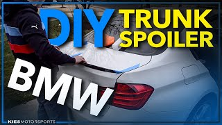 getlinkyoutube.com-BMW F30 Lip Spoiler Install V2