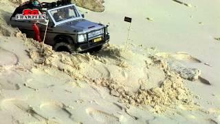 Short Trail - RC Scale truck Mercedes AMG G63 4x4 at Alang's Rawa Island Beach getaway