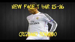 getlinkyoutube.com-NEW FACE Y HAIR CRISTIANO RONALDO 2015-2016 :: PES 2013