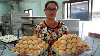 เผยเคล็ดลับวิธีทำขนมปั้งไส้สังขยาสูตรดั้งเดิม ร้านไพพรรณ อุทัยธานี- Uthaithani