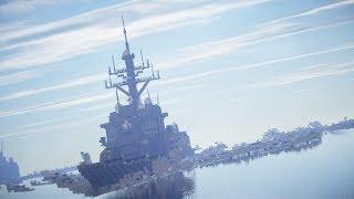 getlinkyoutube.com-【minecraft】海上兵器紹介!!第1隻目!!ミサイル駆逐艦「蒼玉」【海軍兵器】