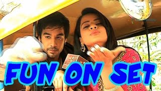 getlinkyoutube.com-Check out Jigyasa Singh and Manish Goplani's auto ride on set