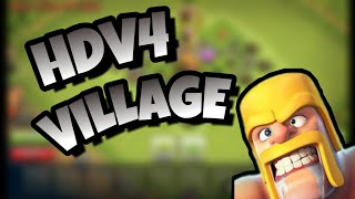 Comment faire un bon village hdv 4 clash of clans