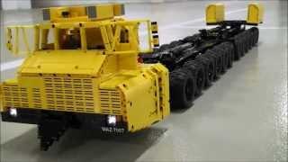 [MOC] Lego Technic MAZ 7907 24x24 Russian - Belarussian Truck 1:19