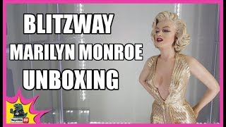 getlinkyoutube.com-Marilyn Monroe Blitzway Statue Unboxing