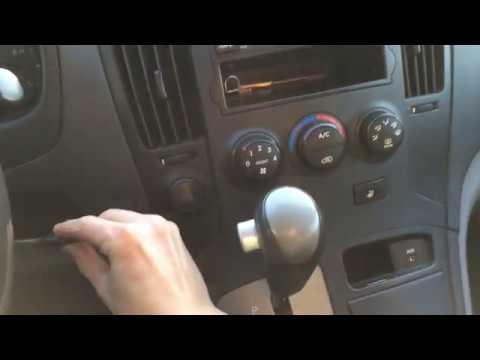 Как отключить автоматическое включение кондиционера Hyundai Starex