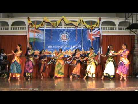 London Tamil Sangam Pongal celebration 2011 - Thottu kadai orathila  - Tamil Folk dance