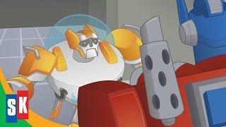 getlinkyoutube.com-Transformers Rescue Bots: Dinobots! (1/3) Blades Can't Transform