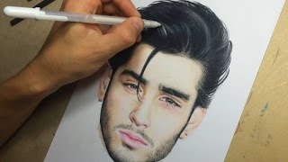 getlinkyoutube.com-Drawing Zayn Malik