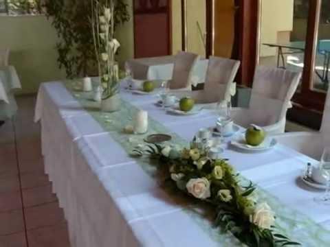 Beispiel: Hochzeitsdekoration, Video: Hotel Bock.