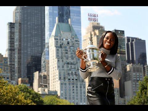 2017 US Open: Singles Champ Sloane Stephens Visits Central Park