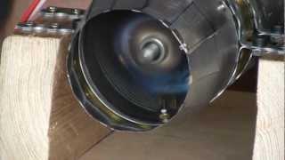 getlinkyoutube.com-Self Made Jet Engine : 2. Testrun