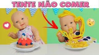 TENTE NÃO COMER   MEGIE E MIA - Lilly Doll