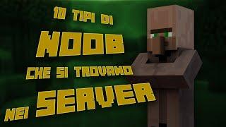 10 tipi di NOOB che si trovano nei server