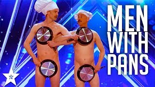 Men with Pans SHOCK the Audience | America's Got Talent 2017
