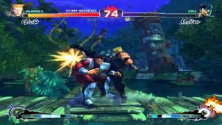 Ultra Street Fighter IV Rival Battle 15: Guile Vs Master Bison (Dicator)