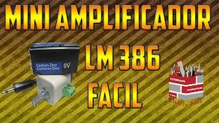 getlinkyoutube.com-Como Hacer Un Mini Amplicador De Audio con LM386 Facil | Electronica