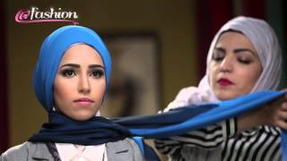 getlinkyoutube.com-Easy & Elegant Hijab Style ُTutorial for work & university