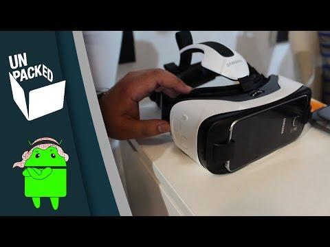 نظرة سريعة على نظارات الواقع الإفتراضي الـ Gear VR الخاصة بالـ S6