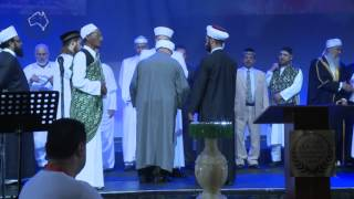 Mawlid 2012 -Bringing in the hair of Prophet Muhammad