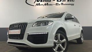 getlinkyoutube.com-Audi Q7 V12 TDI with Maxhaust Active Sound Engine Sound Motorsound
