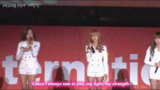 getlinkyoutube.com-소녀시대 (SNSD) - (090701) Because You Loved Me & (091008) There You'll Be